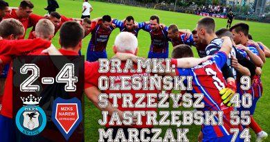 Iskra Krasne – Narew Ostrołęka 2-4