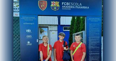 Nasi na testach w szkółce Barcelony